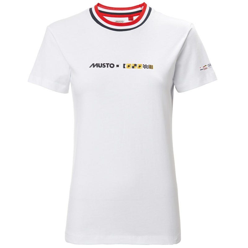 MUSTO FLAGS TEE FOR WOMEN