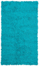 Shaggy Raggy Teal Area Rug