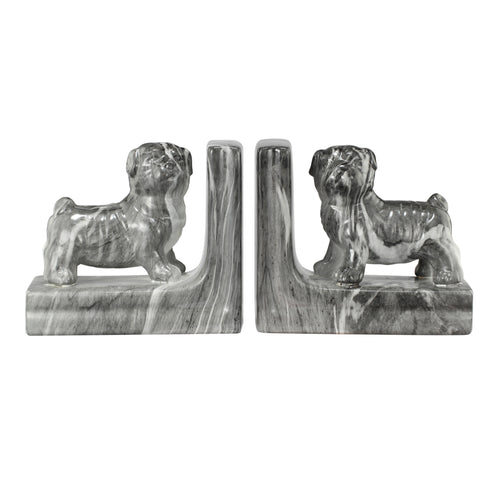 Bookends Guard Dog (Set Of 2)