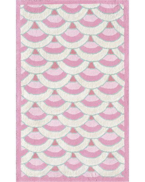 Chi-Lin Pink Area Rug