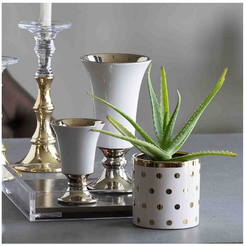 Navya Golden Dots Planters