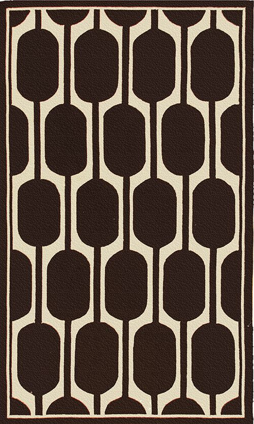 Geo Brown Area Rug