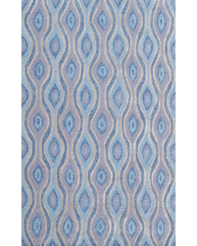Nazar Blue Area Rug