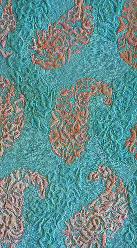 Scottland Teal Area Rug