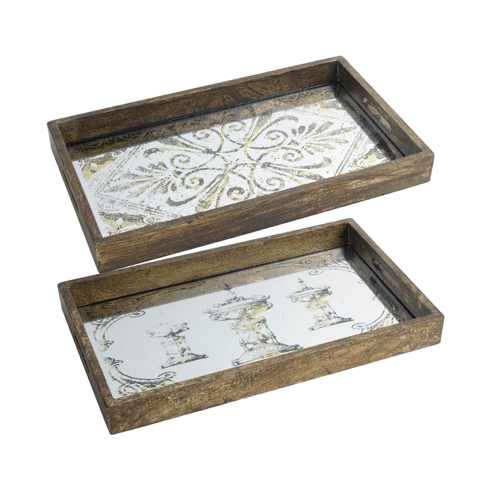 Greta Rectangular Trays (Pair)