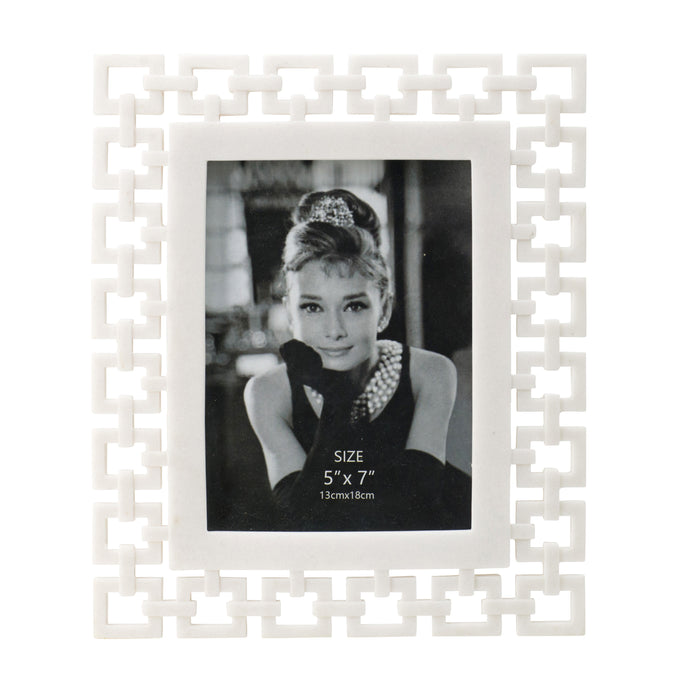 Geo-Chain Photo Frame