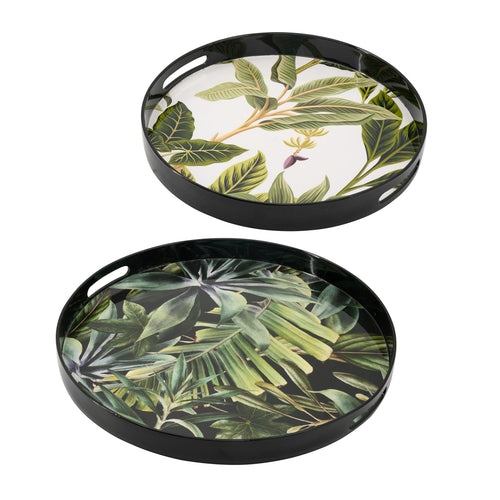 Jungle Decorative Tray (Set of 2)