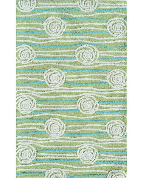 Rosalita Green Area Rug