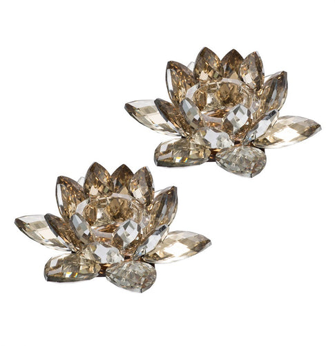 Lotus Candle Holder Set of 2