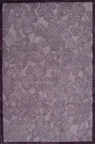 Laced Purple Area Rug