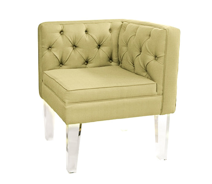 Provence Corner Chair Gold