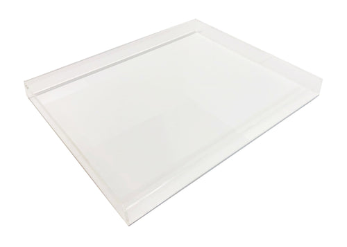 Large Square Lucite Tray