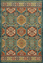 Marrakesh Teal Area Rug