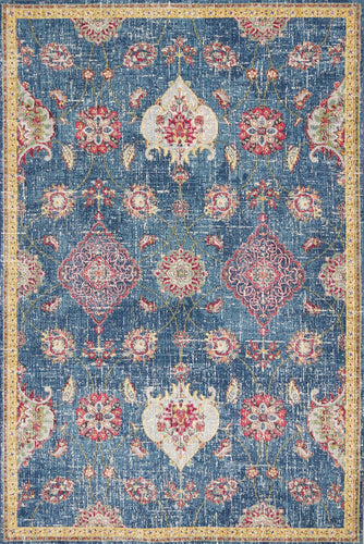 Delaney Blue Area Rug