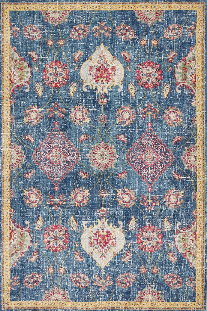 Layla Blue Area Rug