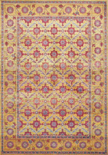 Sunrise Gold Area Rug