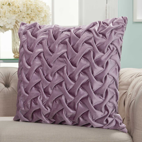 TRM-N-P10 Mv Life Styles Lavender Velvet Pleated Waves