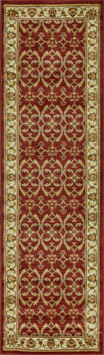 Agra Red Area Rug