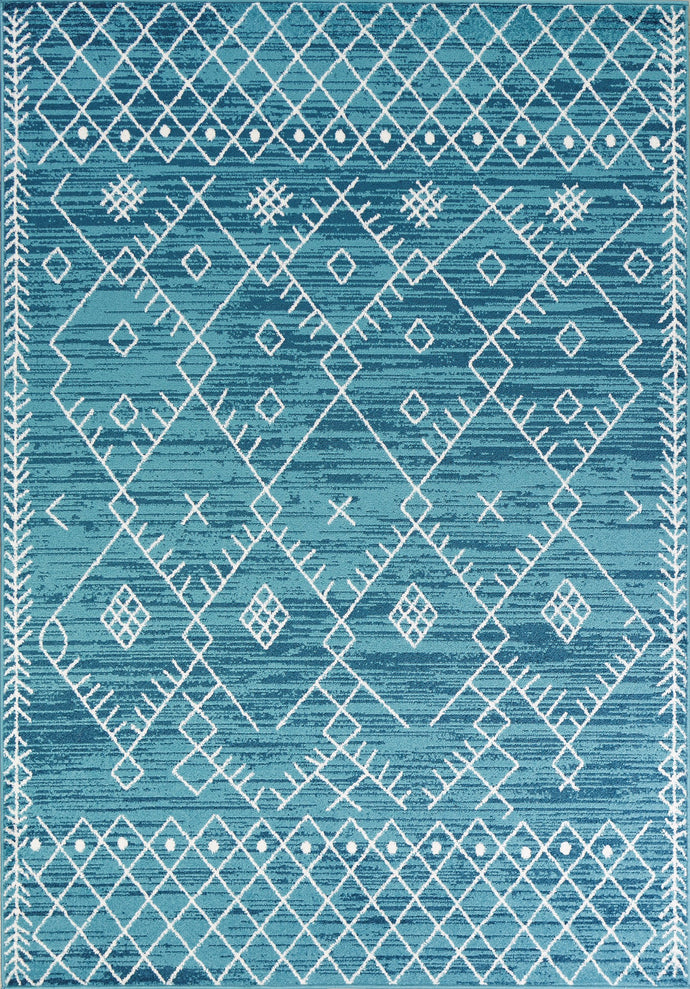 Excape Blue Area Rug