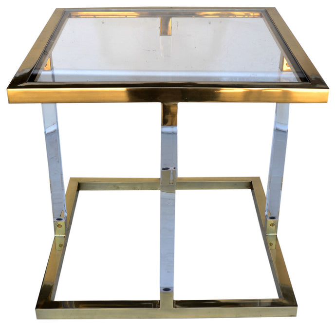 Helena Gold Side Table