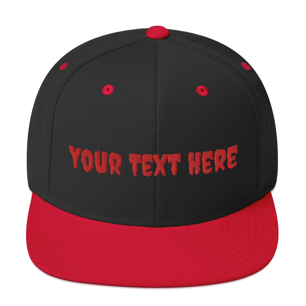 Personalized Snapback Hat