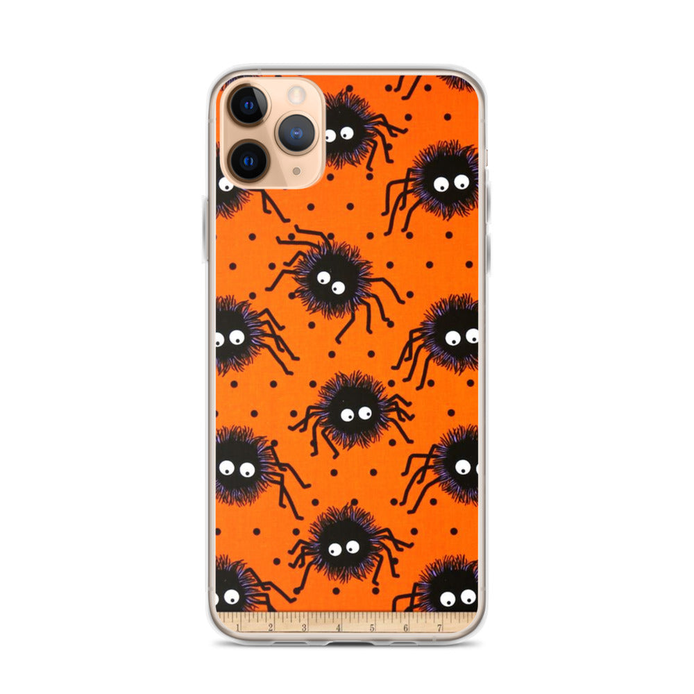 Spiders and Ruler 2in1 iPhone 11 Case & older
