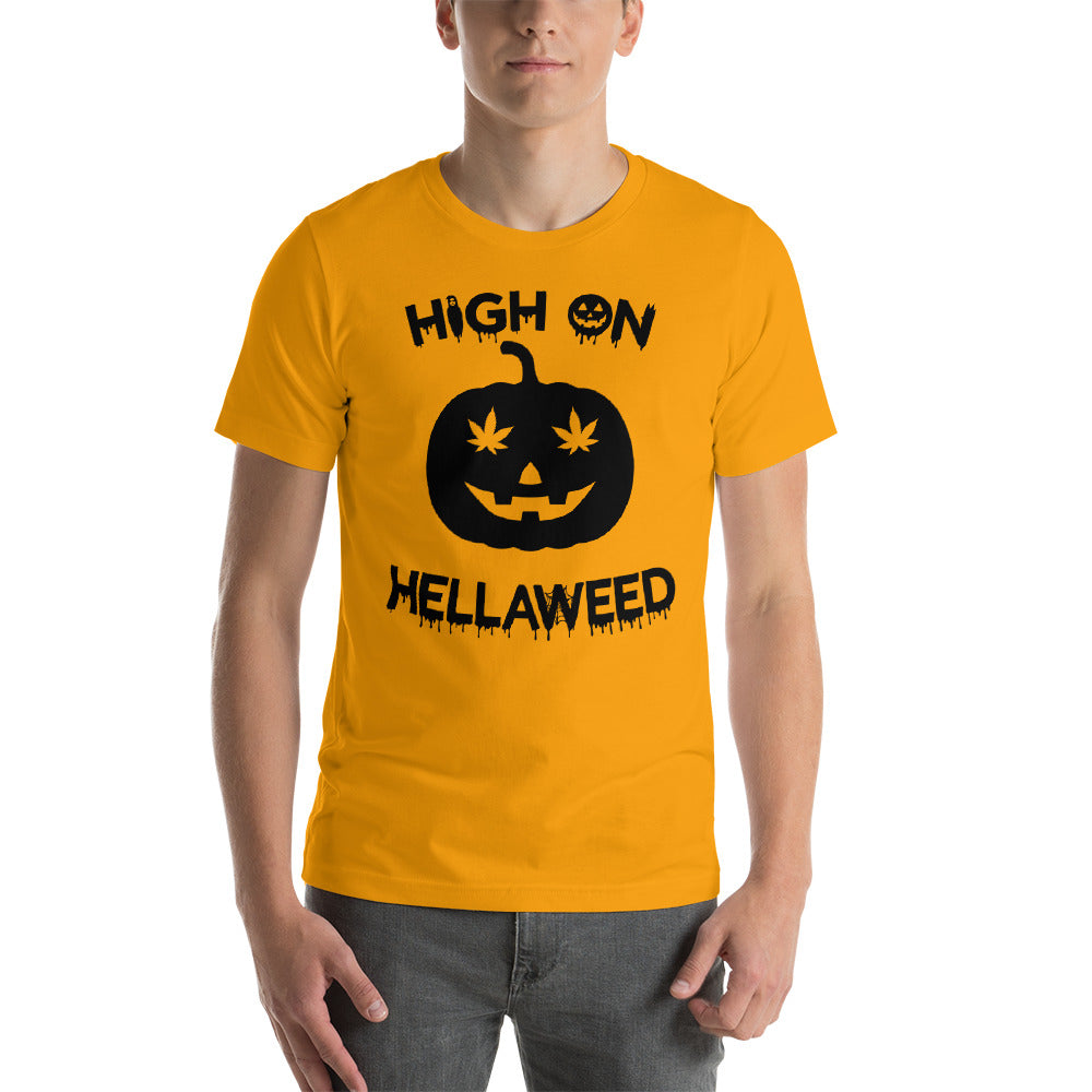 High on HellaWeed Unisex Shirt