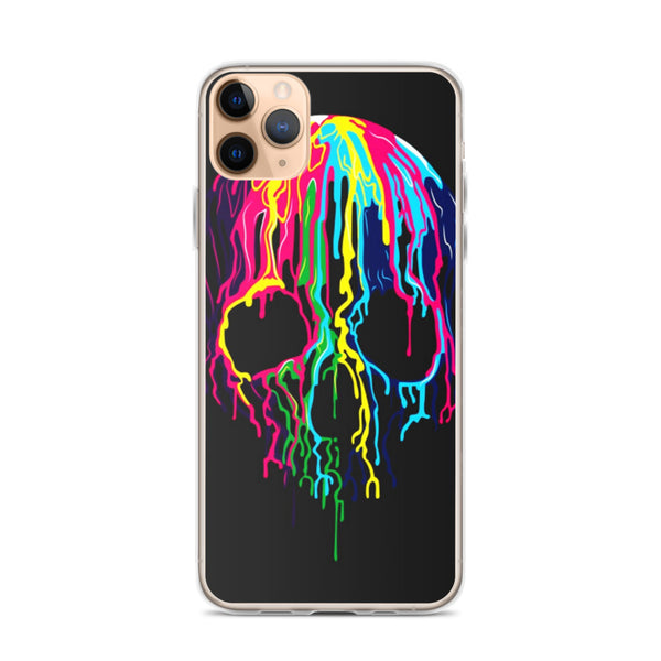 Colorful Skull iPhone 11 Pro M Case