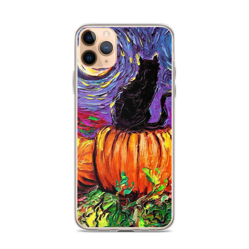 The Starry Night VAN GOGH Halloween iPhone 11 Case & older