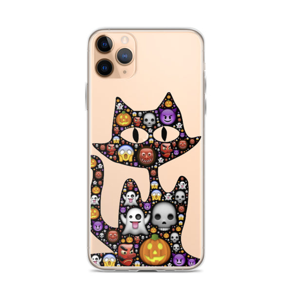 Emoji Cat Halloween iPhone 11 Pro M Case