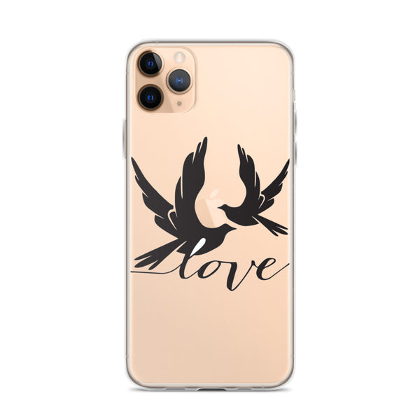 Two Birds in Love iPhone 11 Case & older