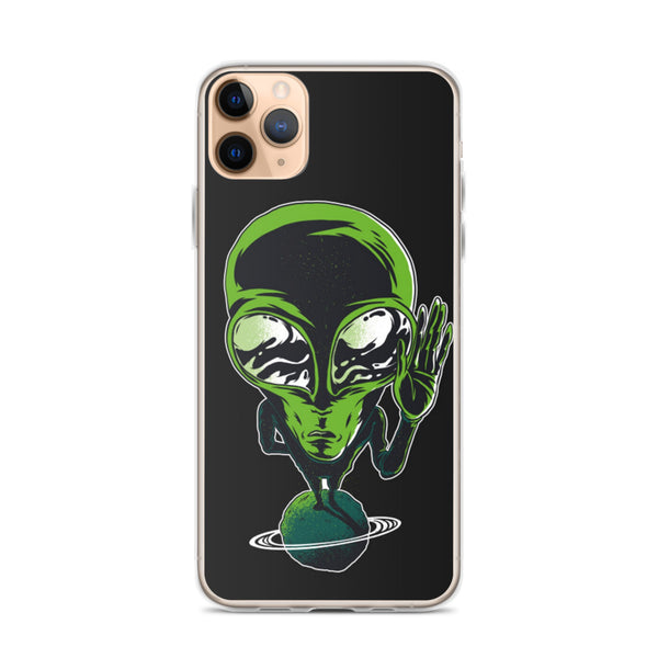Hello Alien iPhone 11 Case & older