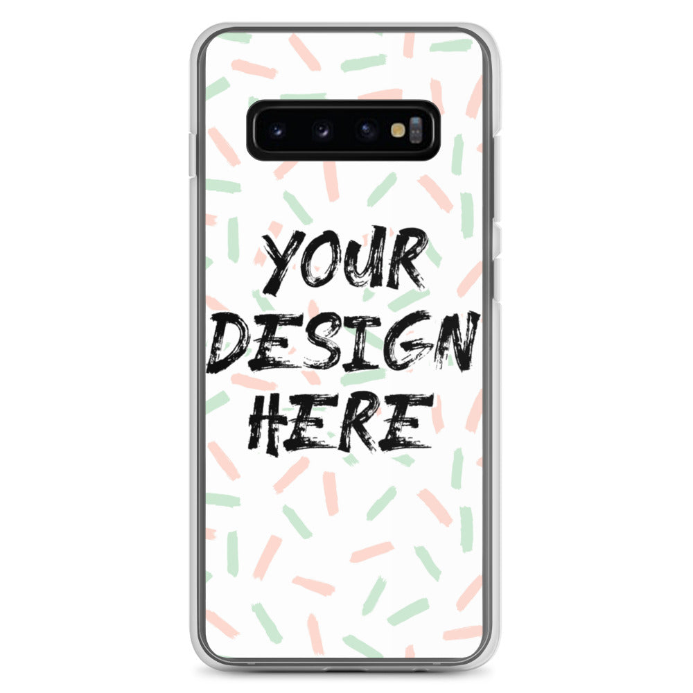 Personalized Samsung S10 Case & older