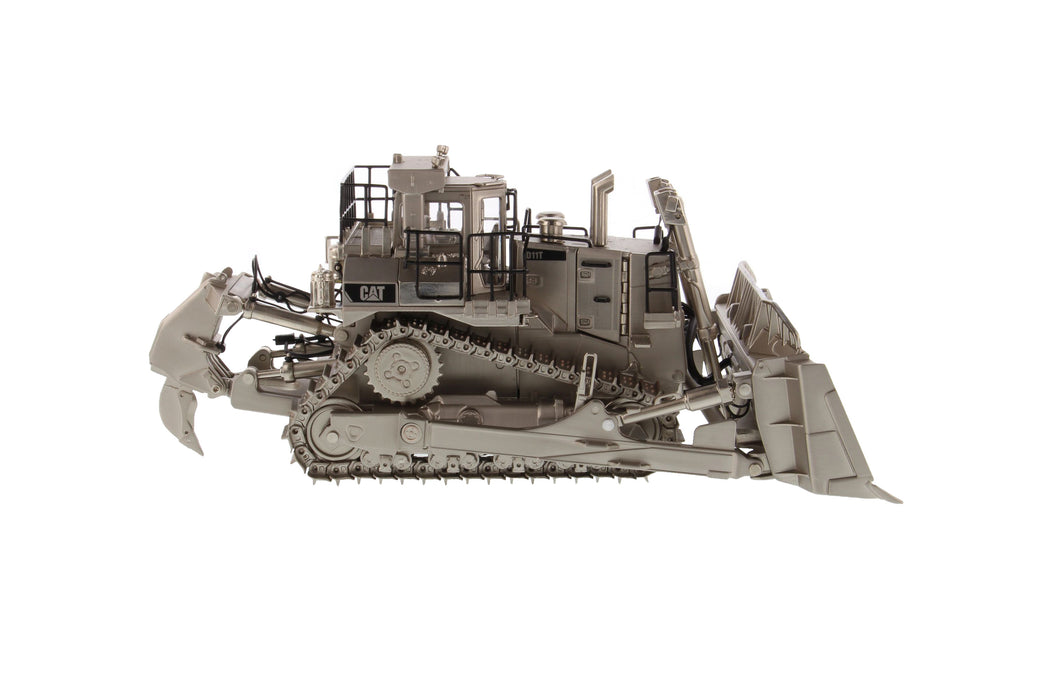 1:50 Cat® D11T Track Type Tractor - Matt Silver Plated