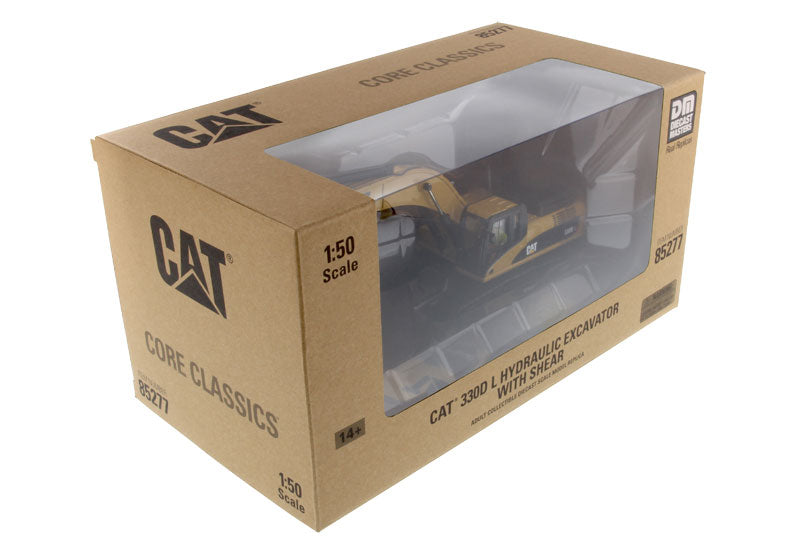 1:50 Cat® 330D L Hydraulic Excavator with Shear