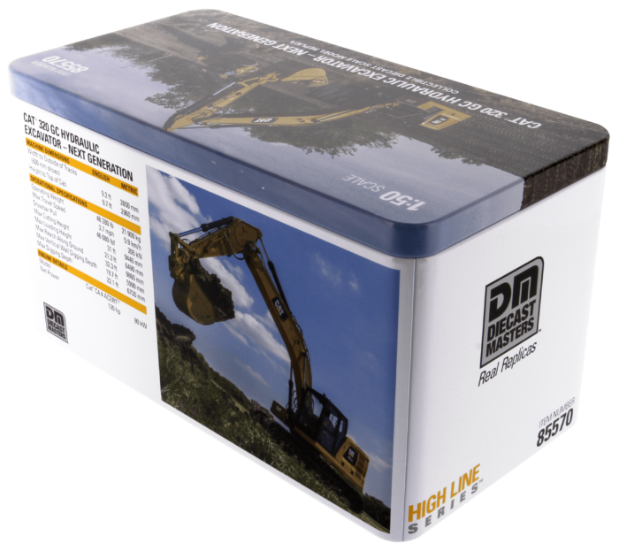 1:50 Cat® 320 GC Hydraulic Excavator
