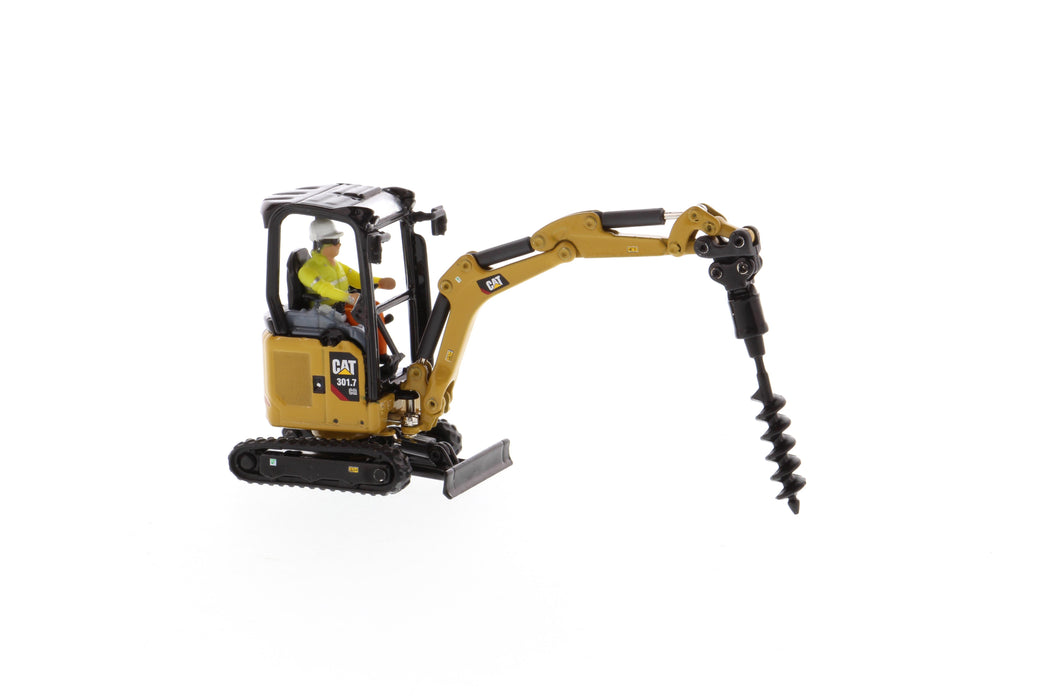 1:50 Cat® 301.7 CR Mini Hydraulic Excavator - Next Generation