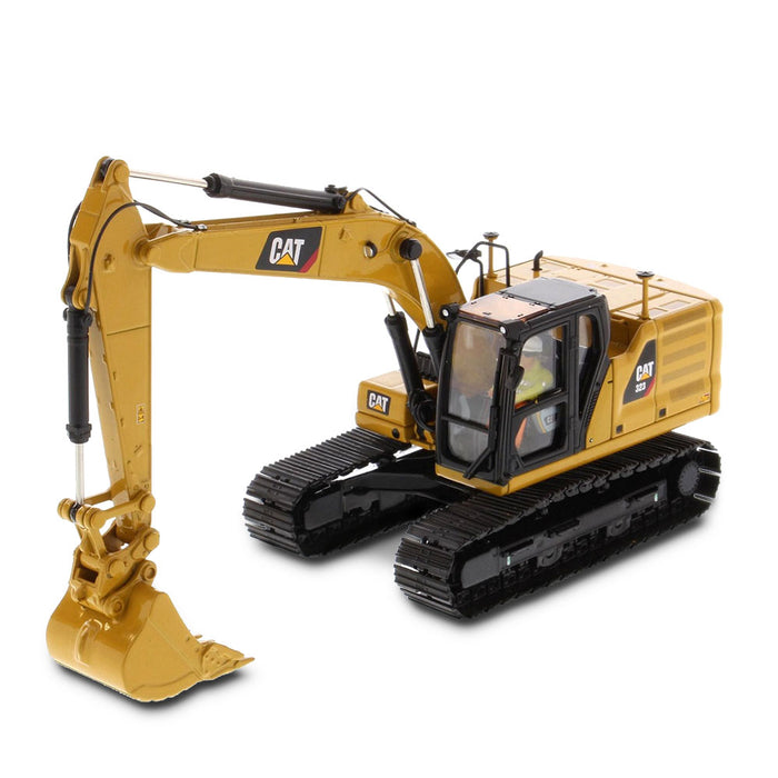 Cat 323 Hydraulic Excavator with 4 new work-tools - Next Generation