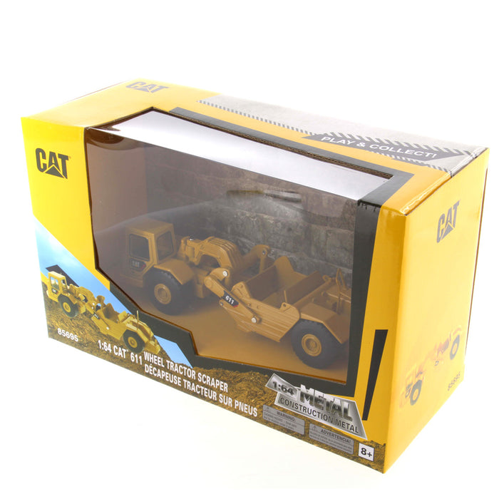 85695 - 1:64 Cat Wheel Tractor 611 Scraper