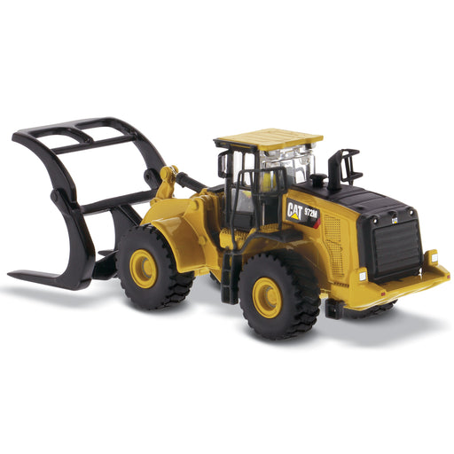 1:87 Cat 972M Wheel Loader with Log Fork