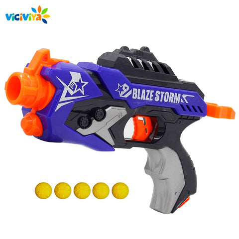 Soft Bullet Gun Rival Elite Series + 5 Ball Bullets