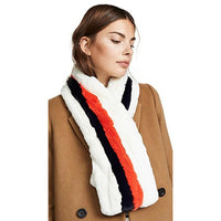THE LARS FAUX FUR SCARF