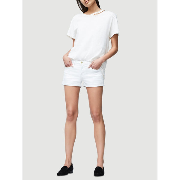 LE CUTOFF SHORT - BLANC