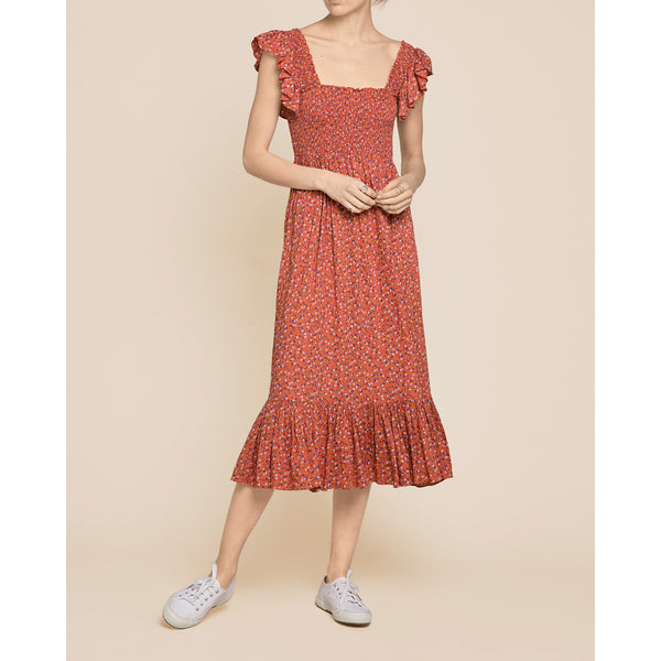 SUMMER SMOCKING DRESS