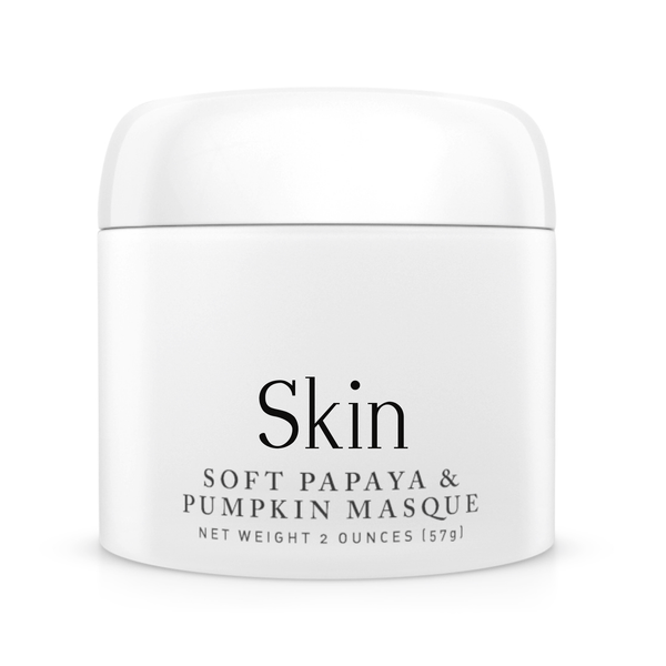 Soft Papaya and Pumpkin Masque