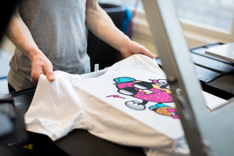 How Printed T-Shirts Are Made | Human Nature Designs