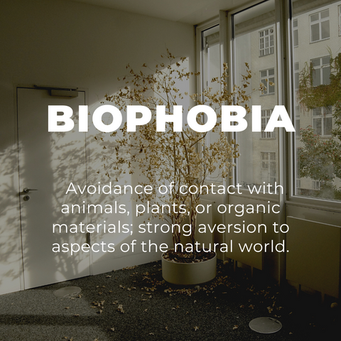What is Biophobia? The Fear of Nature, Explained. | Human Nature Designs