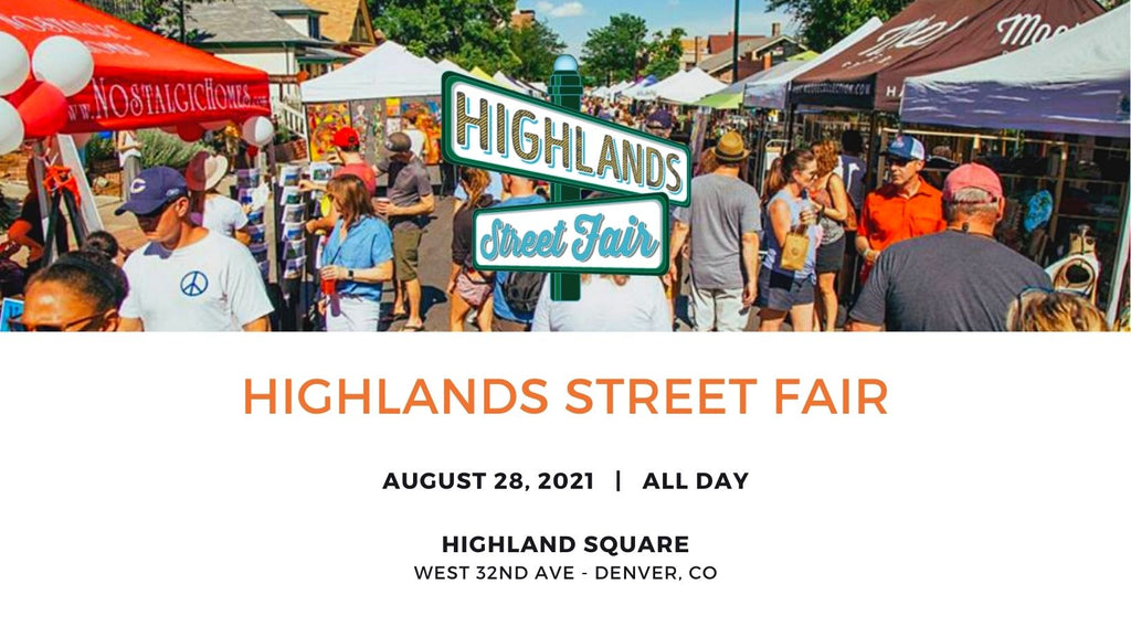 Highlands Street Fair, Colorado - Human Nature Designs in person events