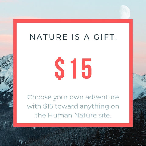 Human Nature Designs - Gift Card / Gift Certificate - $15