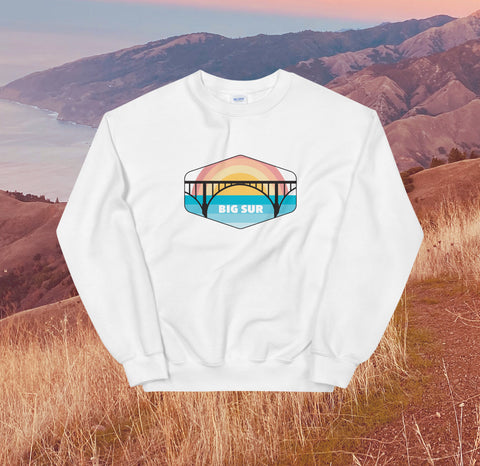 Big Sur Sweatshirt - White - Unisex